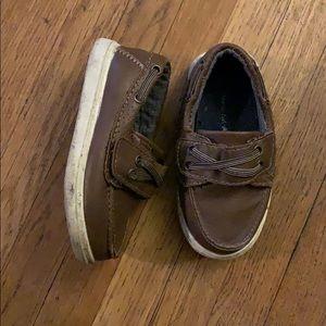 Toddler boy shoes 6 brown